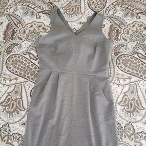 Banana Republic midweight grey dress
